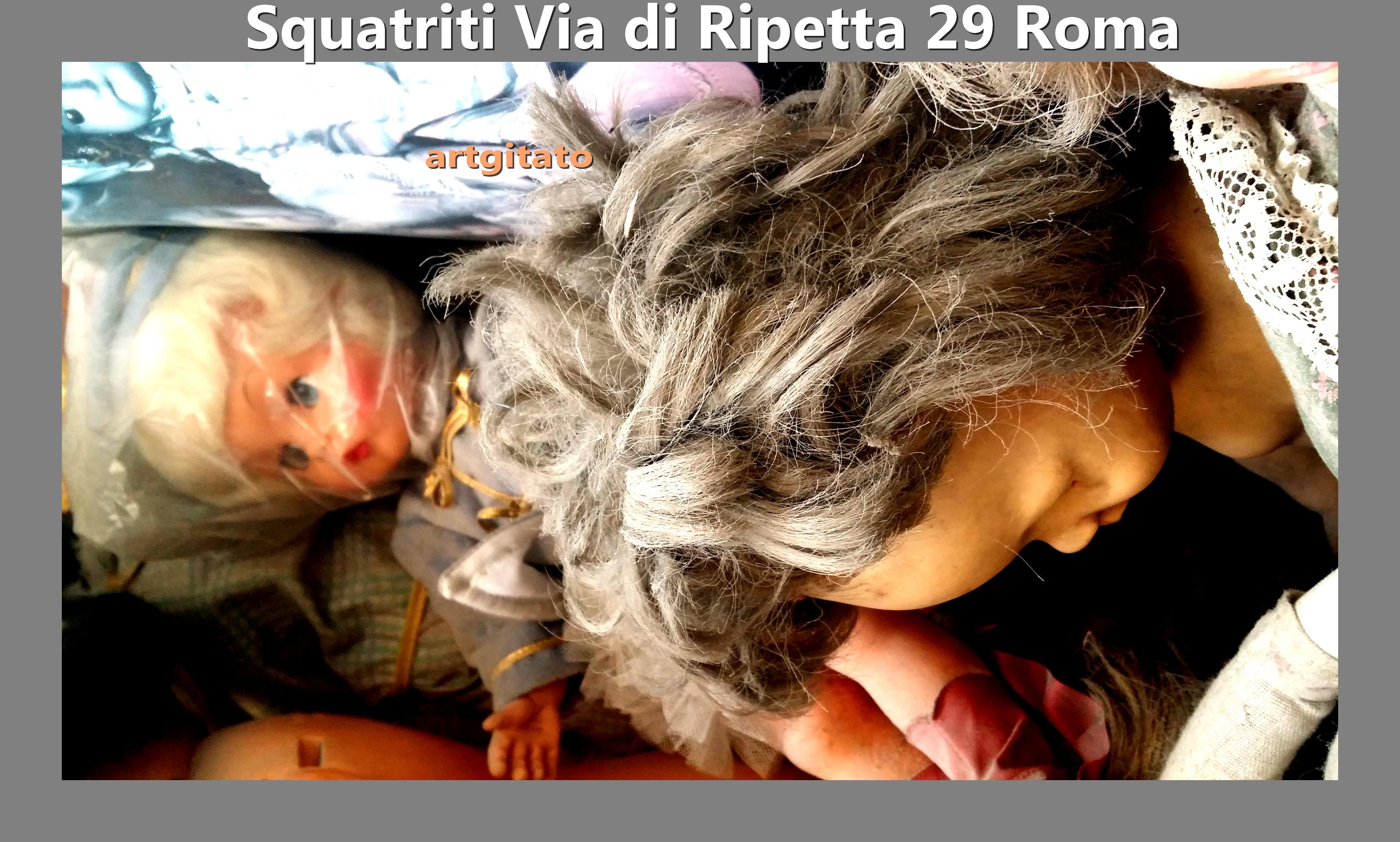 Via di Ripetta Squatriti Restaurateur de Poupée artgitato 6
