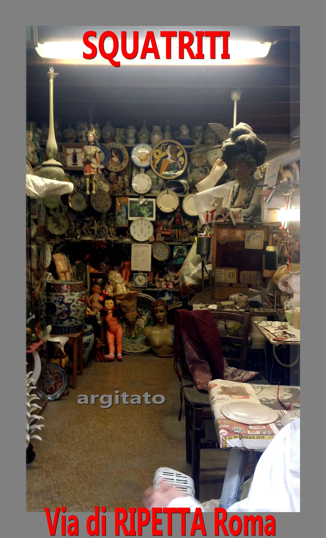 Via di Ripetta Squatriti Restaurateur de Poupée artgitato