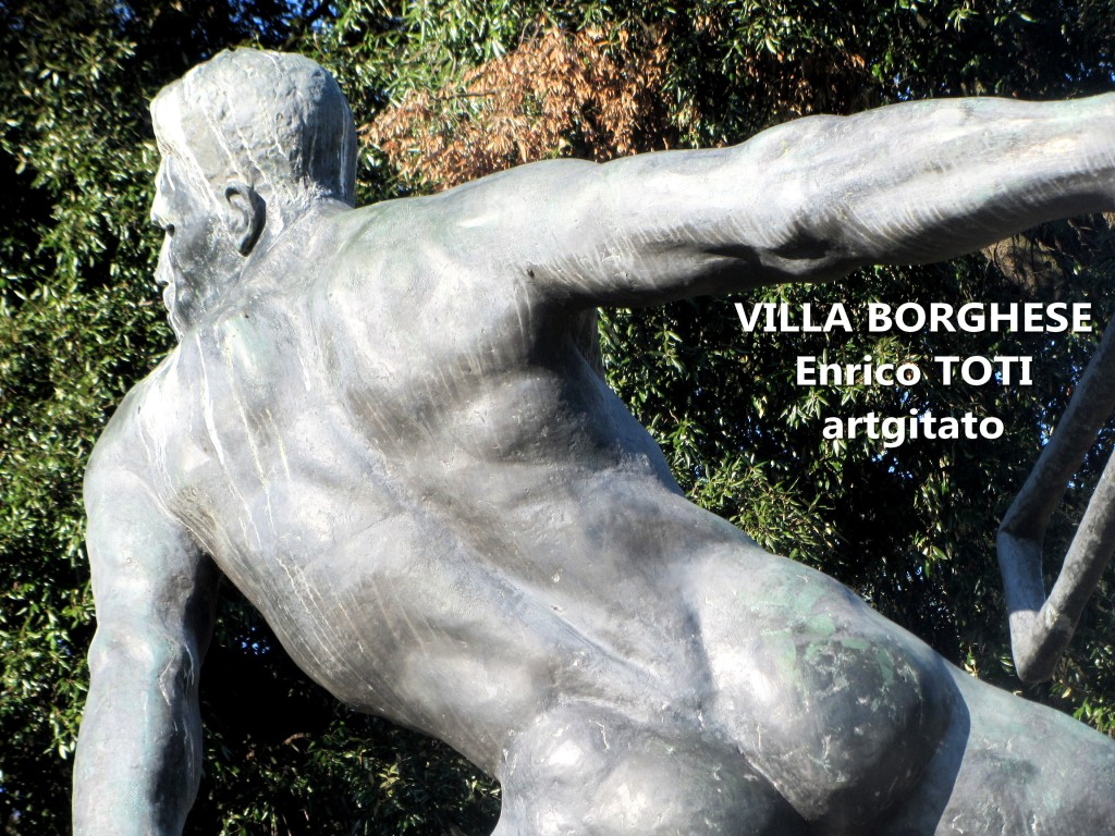 Villa Borghese EnricoToti artgitato 1