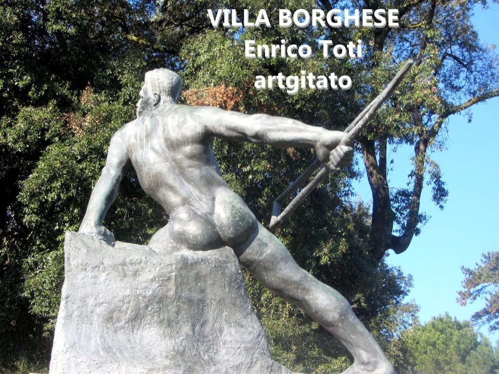 Villa Borghese EnricoToti artgitato 2