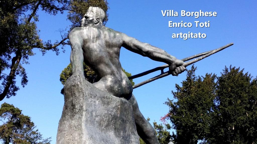 Villa Borghese EnricoToti artgitato 4