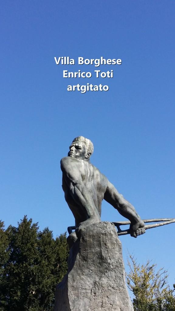 Villa Borghese EnricoToti artgitato 5