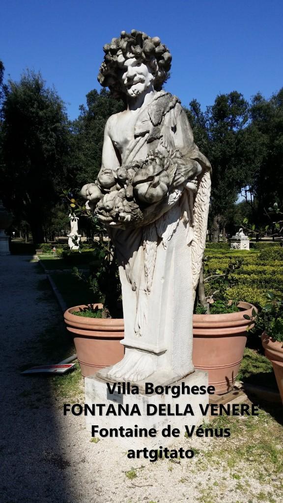 fontana della venere Fontaine de Venus Villa Borghese Roma Rome Artgitato 6