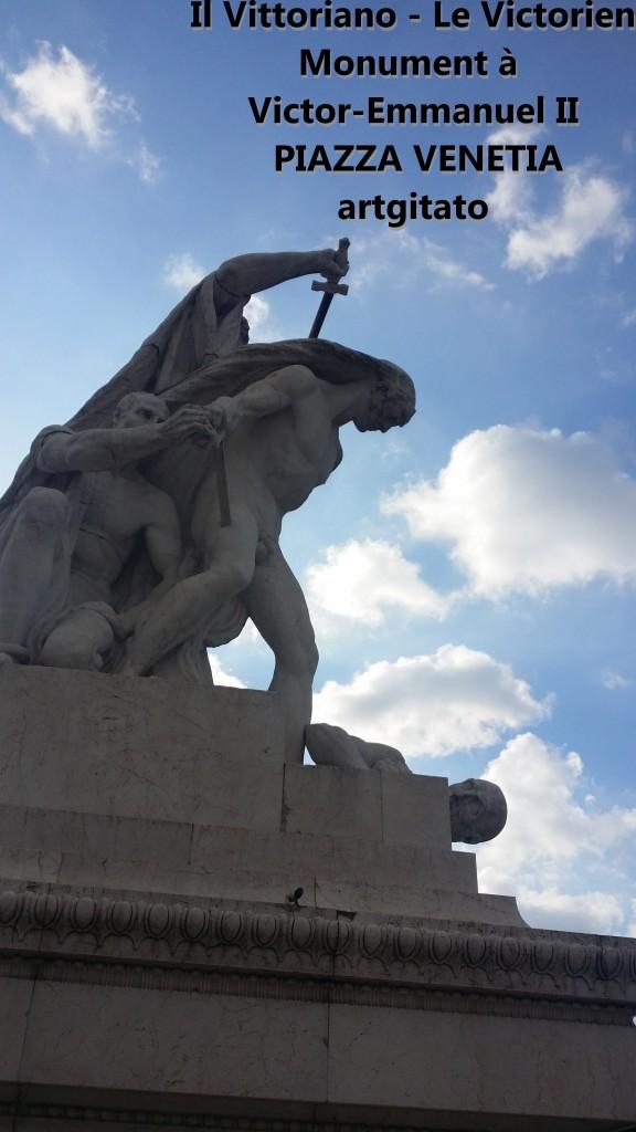 il vittoriano le victorien monument à emmanuel II Piazza venetia artgitato 14