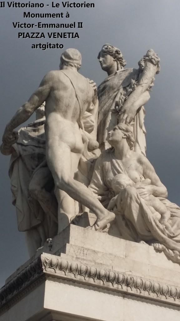 il vittoriano le victorien monument à emmanuel II Piazza venetia artgitato 16