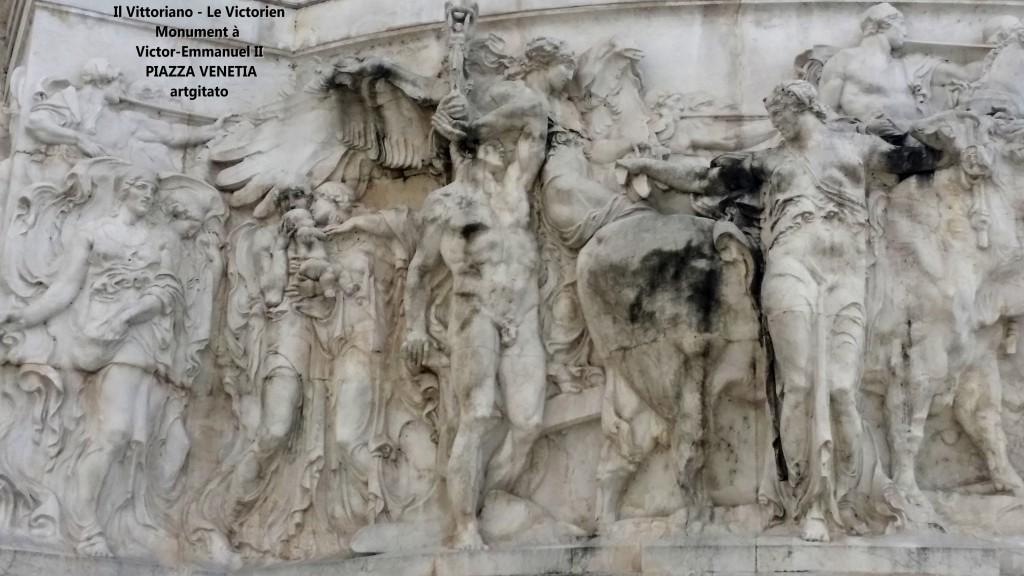 il vittoriano le victorien monument à emmanuel II Piazza venetia artgitato 18