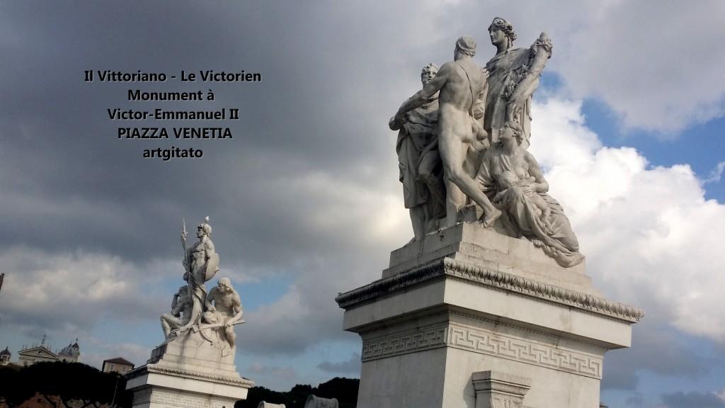 il vittoriano le victorien monument à emmanuel II Piazza venetia artgitato 20