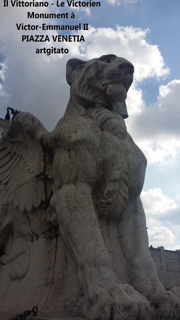 il vittoriano le victorien monument à emmanuel II Piazza venetia artgitato