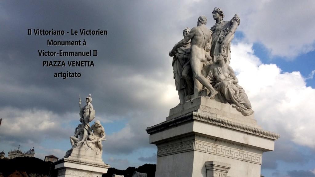 il vittoriano le victorien monument à emmanuel II Piazza venetia artgitato 8