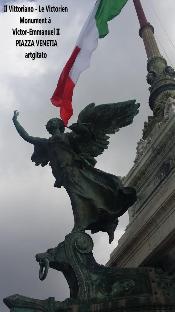 il vittoriano le victorien monument à emmanuel II Piazza venetia artgitato 9