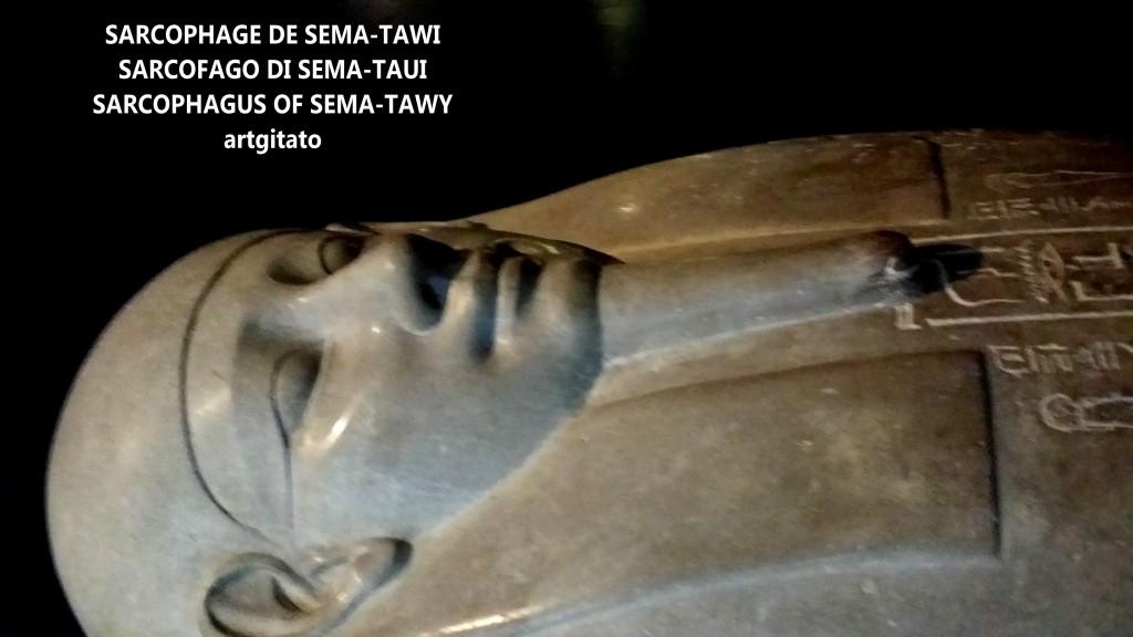 sarcophage de sema-tawi sema-taui-sema-tawy sarcofago sarcophagus musée égyptien du vatican artgitato 1