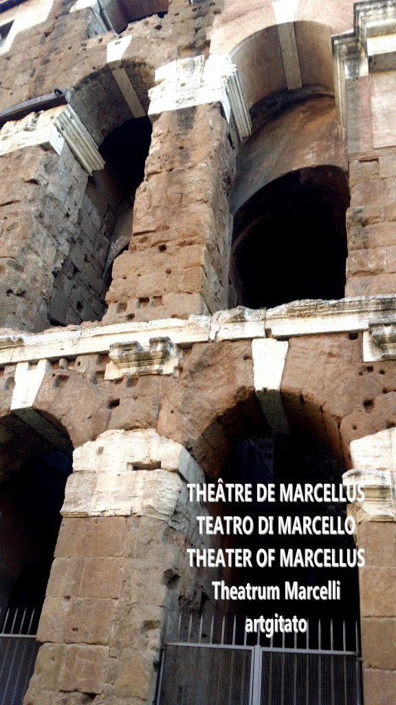 theâtre de Marcellus teatro di marcello theater of marcellus theatrum marcelli artgitato 2