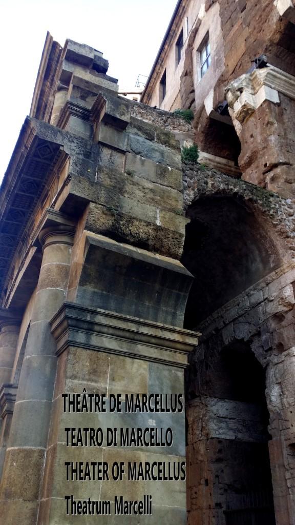 theâtre de Marcellus teatro di marcello theater of marcellus theatrum marcelli artgitato 3