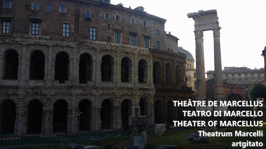 theâtre de Marcellus teatro di marcello theater of marcellus theatrum marcelli artgitato 6