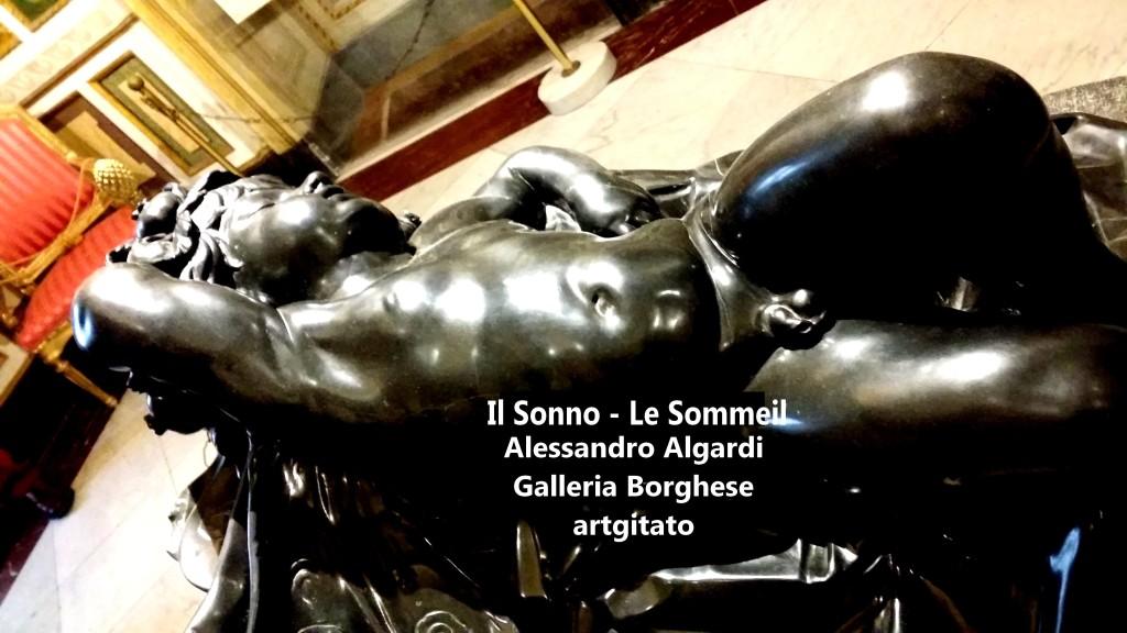 Alessandro Algardi Il sonno Le Sommeil Galleria Borghese Galerie Borghese artgitato 12