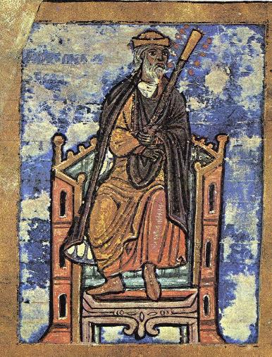 Alfonso_II_of_Asturias_tumbo Alphonse II, manuscrit de Saint-Jacques-de-Compostelle
