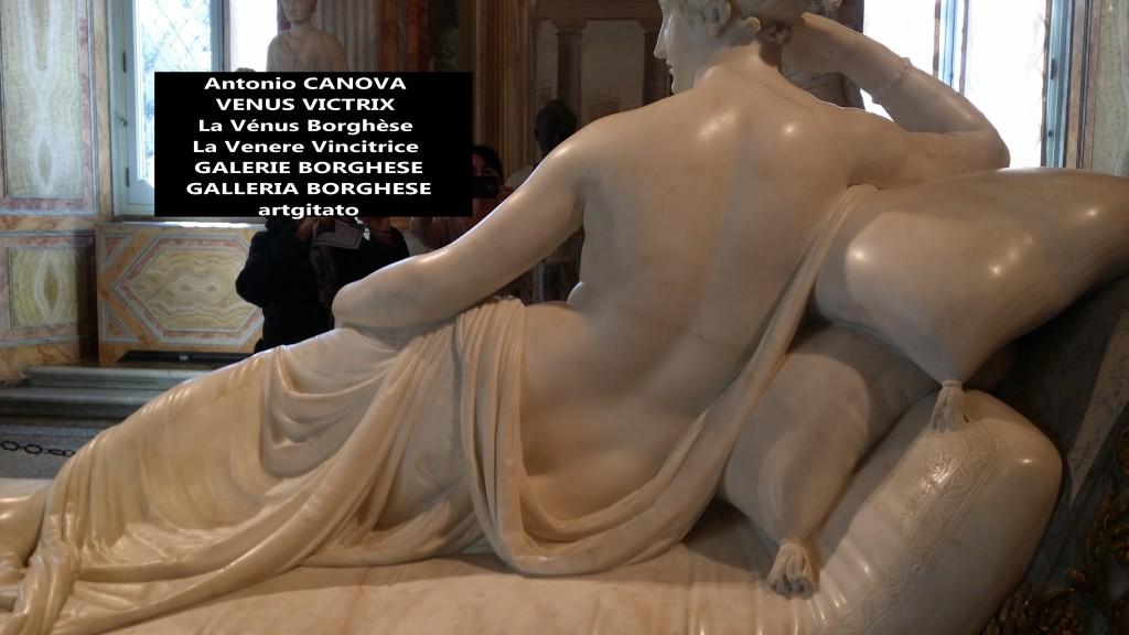 Antonio CANOVA VENUS VICTRIX - La Vénus Borghèse - La Venere Vincitrice - GALERIE BORGHESE - GALLERIA BORGHESE artgitato (11)
