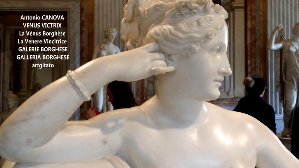 Antonio CANOVA VENUS VICTRIX - La Vénus Borghèse - La Venere Vincitrice - GALERIE BORGHESE - GALLERIA BORGHESE artgitato (13)