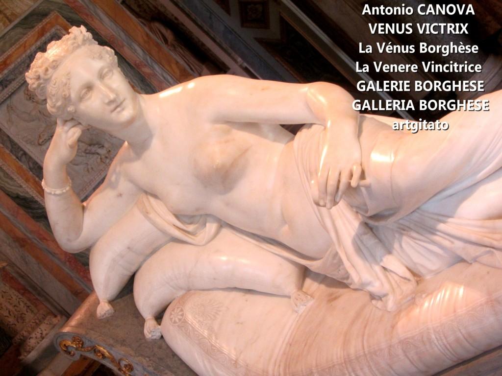 Antonio CANOVA VENUS VICTRIX - La Vénus Borghèse - La Venere Vincitrice - GALERIE BORGHESE - GALLERIA BORGHESE artgitato (18)