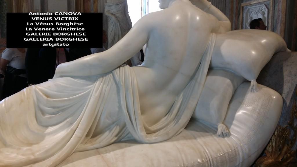 Antonio CANOVA VENUS VICTRIX - La Vénus Borghèse - La Venere Vincitrice - GALERIE BORGHESE - GALLERIA BORGHESE artgitato (6)