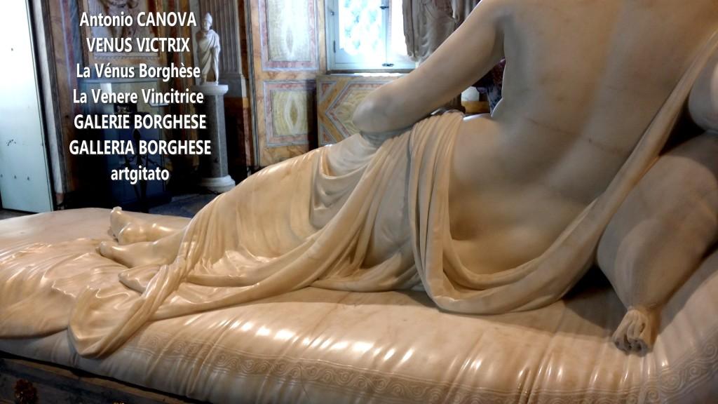 Antonio CANOVA VENUS VICTRIX - La Vénus Borghèse - La Venere Vincitrice - GALERIE BORGHESE - GALLERIA BORGHESE artgitato (7)