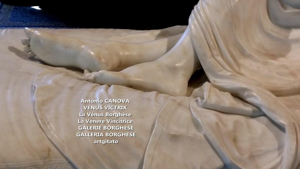 Antonio CANOVA VENUS VICTRIX - La Vénus Borghèse - La Venere Vincitrice - GALERIE BORGHESE - GALLERIA BORGHESE artgitato (8)