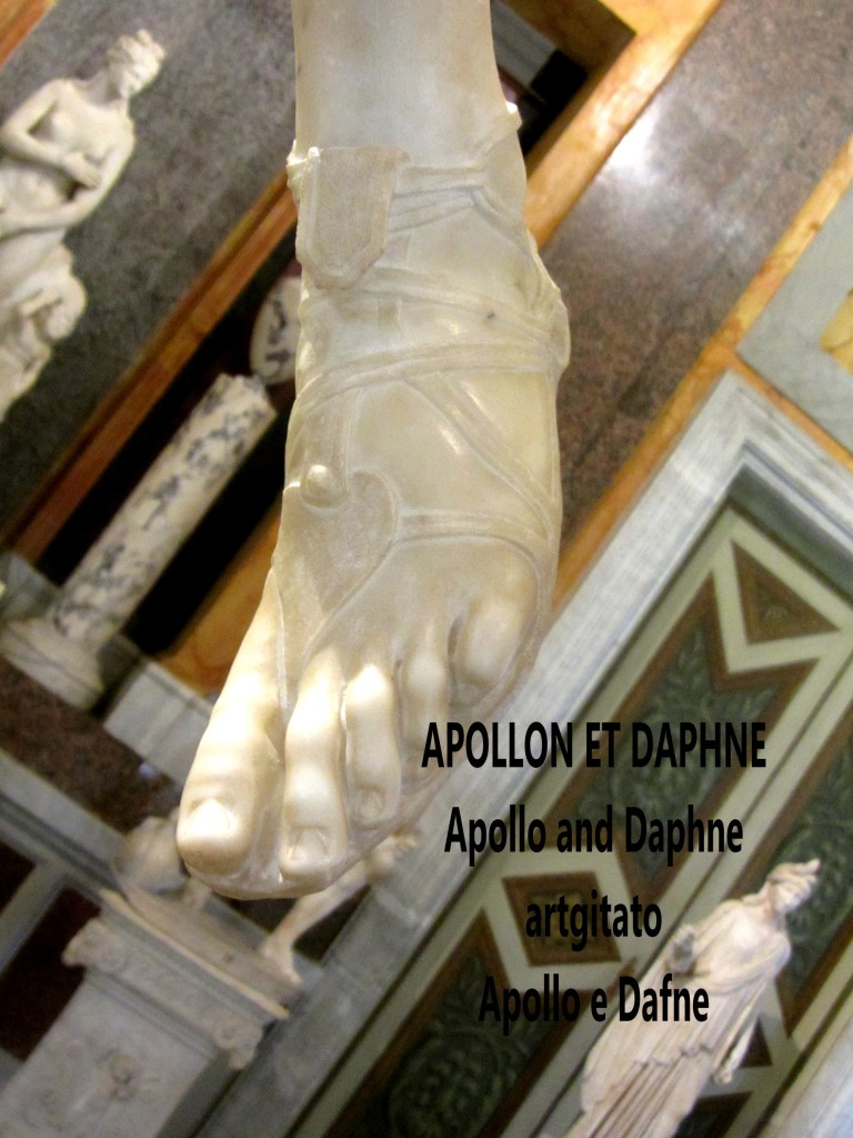 Apollo and Daphne Apollon et Daphné Apollo e Dafne Galerie Borghese Galleria Borghese artgitato (10)