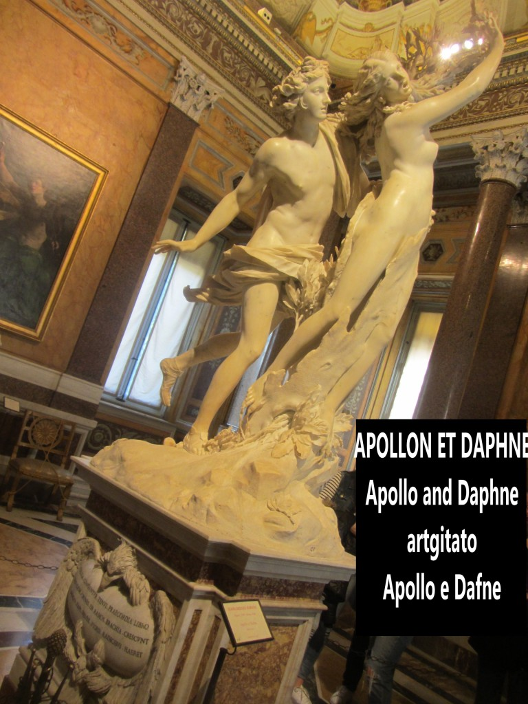 Apollo and Daphne Apollon et Daphné Apollo e Dafne Galerie Borghese Galleria Borghese artgitato (14)