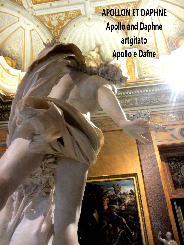 Apollo and Daphne Apollon et Daphné Apollo e Dafne Galerie Borghese Galleria Borghese artgitato (9)