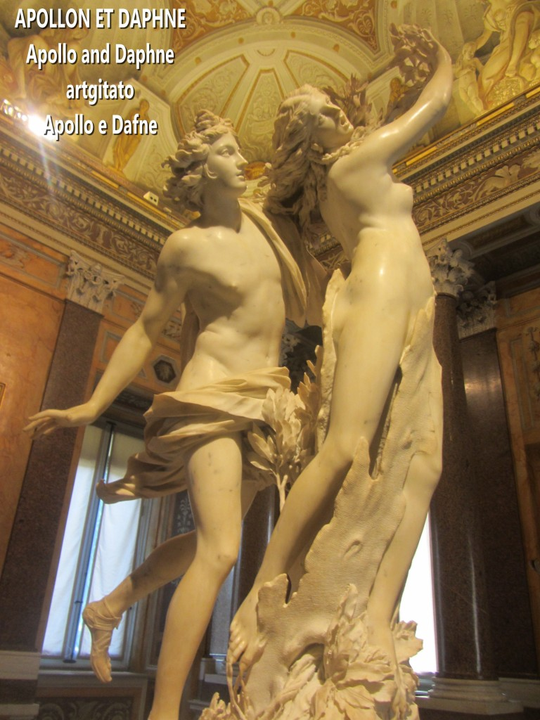Apollo and Daphne Apollon et Daphné Apollo e Dafne Galerie Borghese Galleria Borghese artgitato (1)