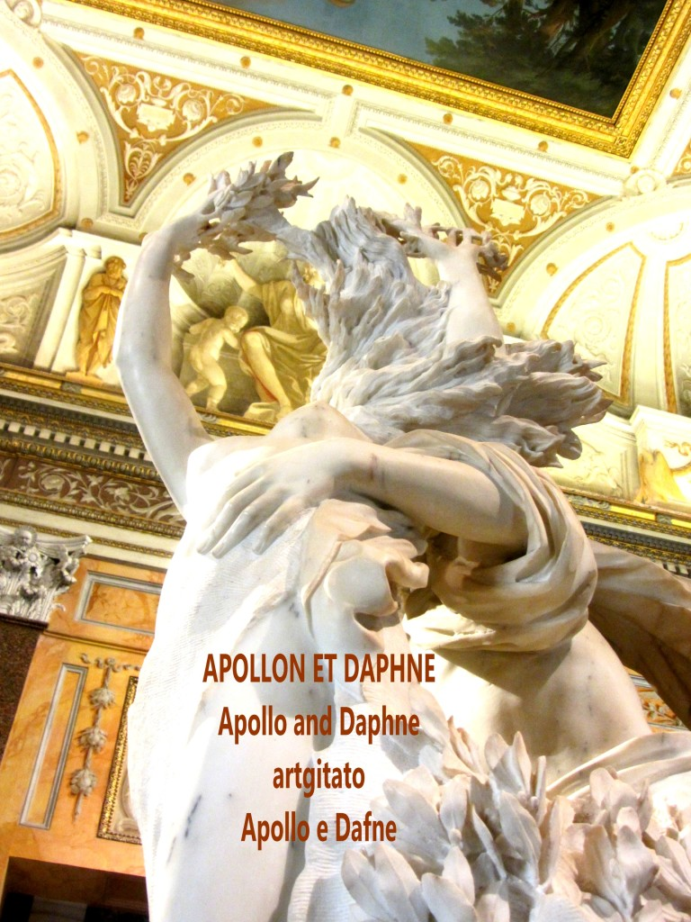 Apollo and Daphne Apollon et Daphné Apollo e Dafne Galerie Borghese Galleria Borghese artgitato (11)