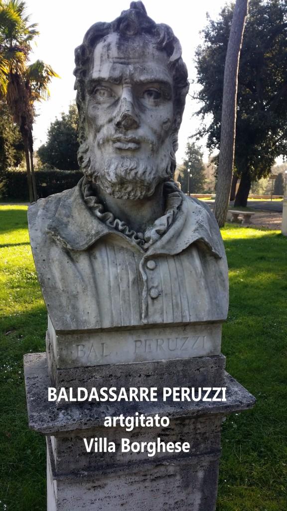 Baldassarre Peruzzi Villa Borghese Rome Roma artgitato