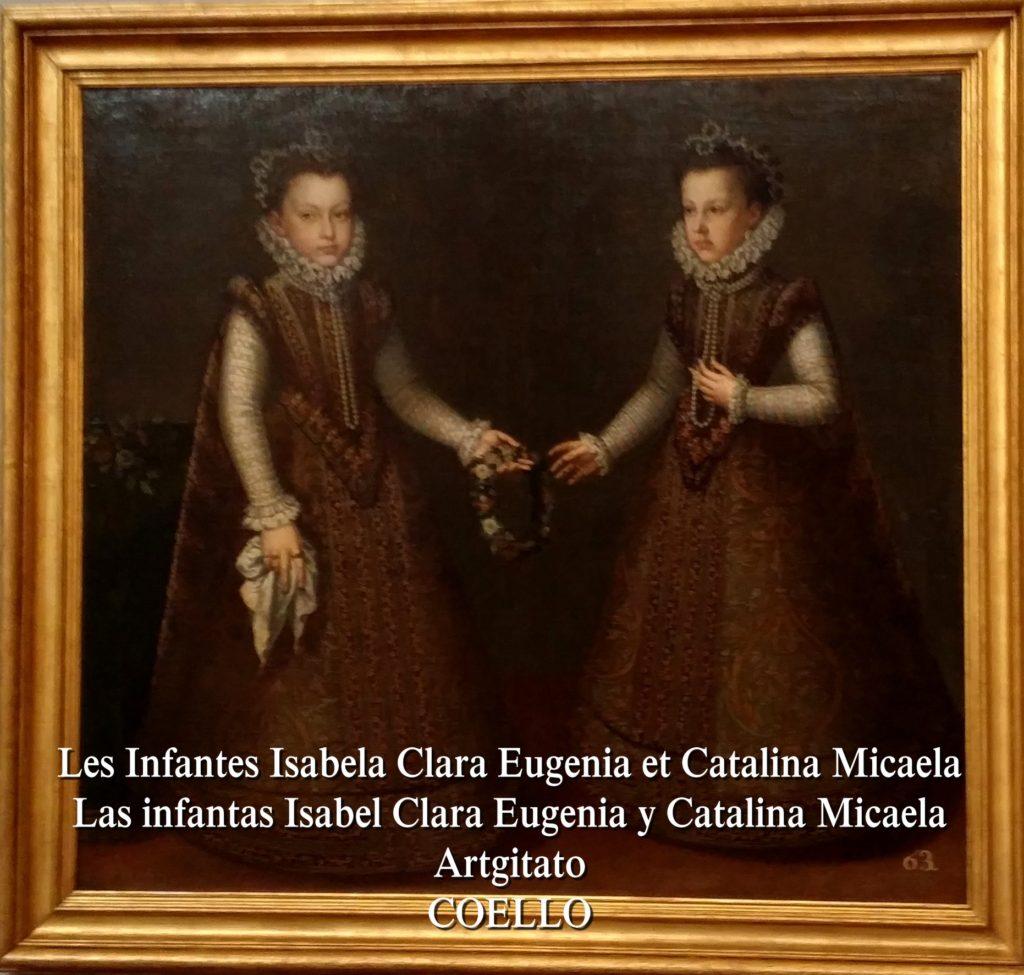 Coello Les Infantes Isabela Clara Eugenia et Catalina Micaela Les infantes Prado Montauban Artgitato 3