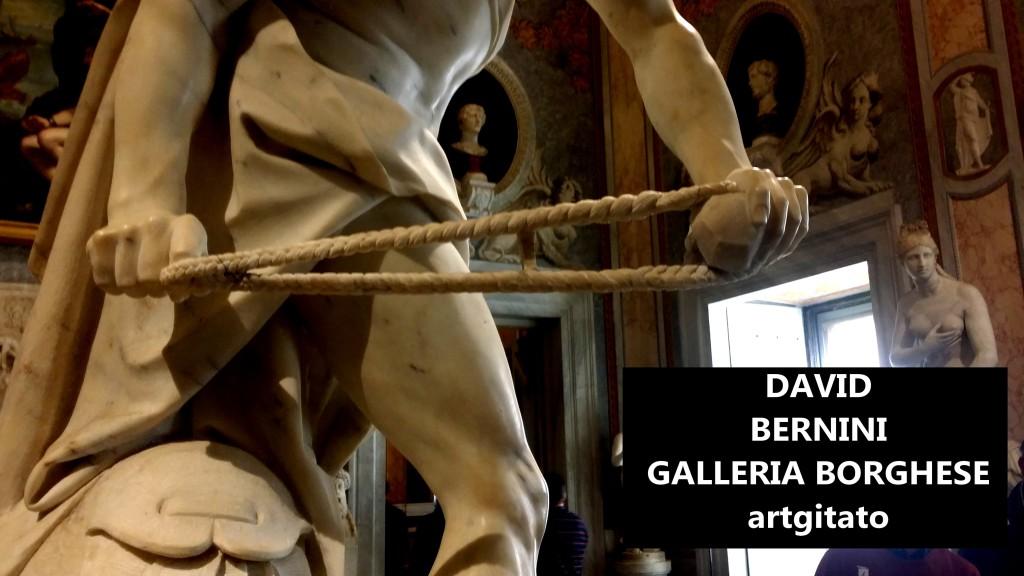 David Le Bernin Bernini Galleria Borghese Galerie Borghese roma Roma Artgitato (1)