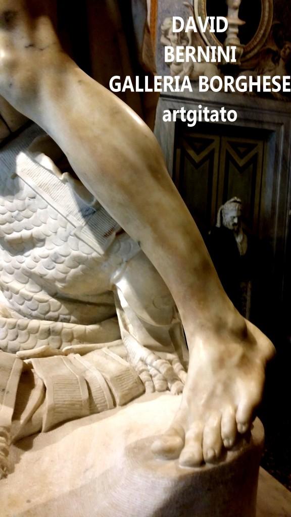 David Le Bernin Bernini Galleria Borghese Galerie Borghese roma Roma Artgitato (2)