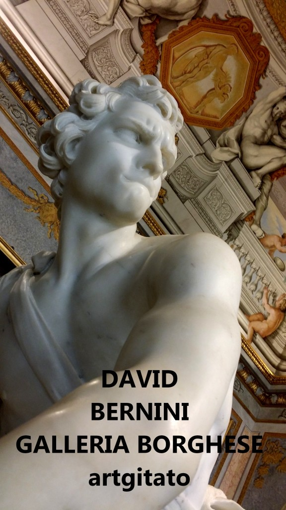 David Le Bernin Bernini Galleria Borghese Galerie Borghese roma Roma Artgitato (4)
