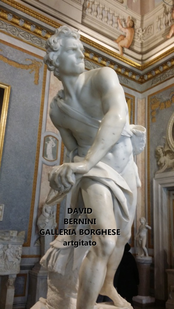 David Le Bernin Bernini Galleria Borghese Galerie Borghese roma Roma Artgitato (8)