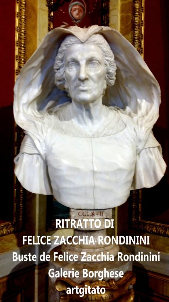 Domenico Guidi Ritratto di Felice Zacchia Rondinini Galleria Borghese Rome Roma artgitato (1)