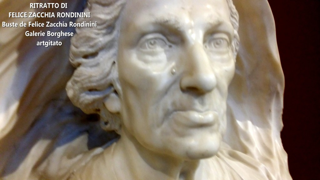 Domenico Guidi Ritratto di Felice Zacchia Rondinini Galleria Borghese Rome Roma artgitato (2)