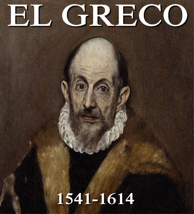 El Greco Portrait d'un Homme dit L'autoportrait du Greco