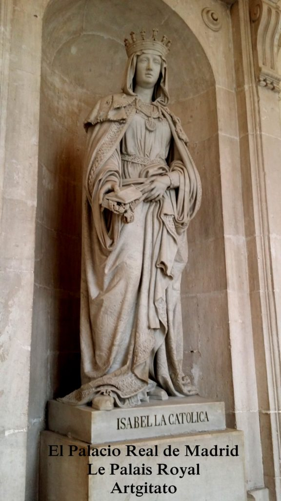El Palacio Real de Madrid Le Palais Royal de Madrid Artgitato 1 Isabelle la Catolica