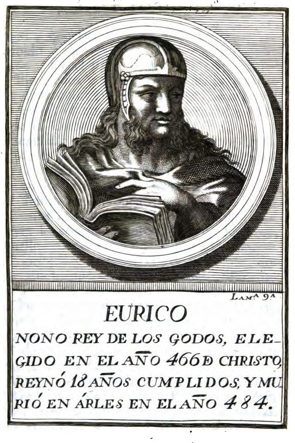 Euric EURICO Roi des Wisigoths