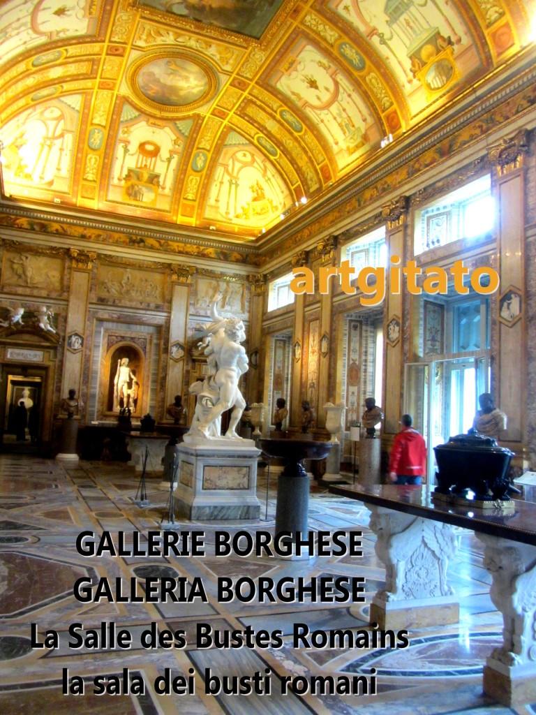 Gallerie Borghese Galleria Borghese la salle des bustes la sala dei busti romani artgitato