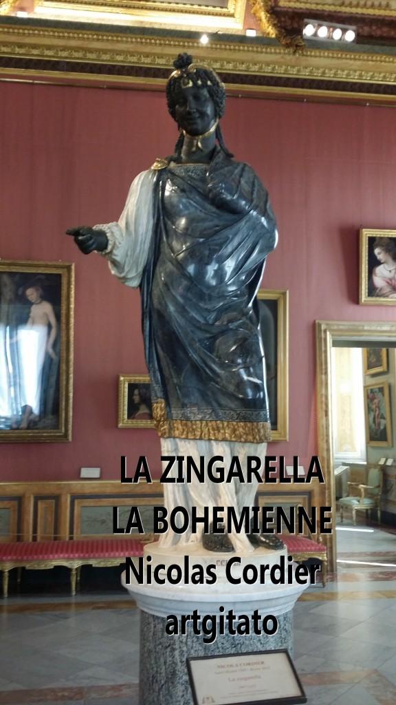 LA ZINGARELLA La Bohémienne Nicolas Cordier La Villa Borghese artgitato