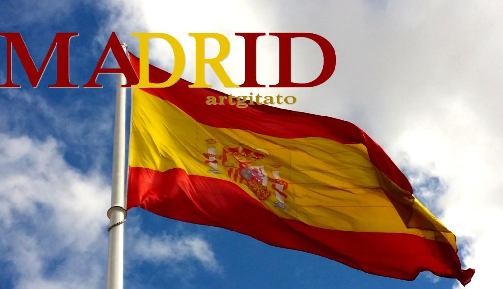 Madrid Drapeau Artgitato