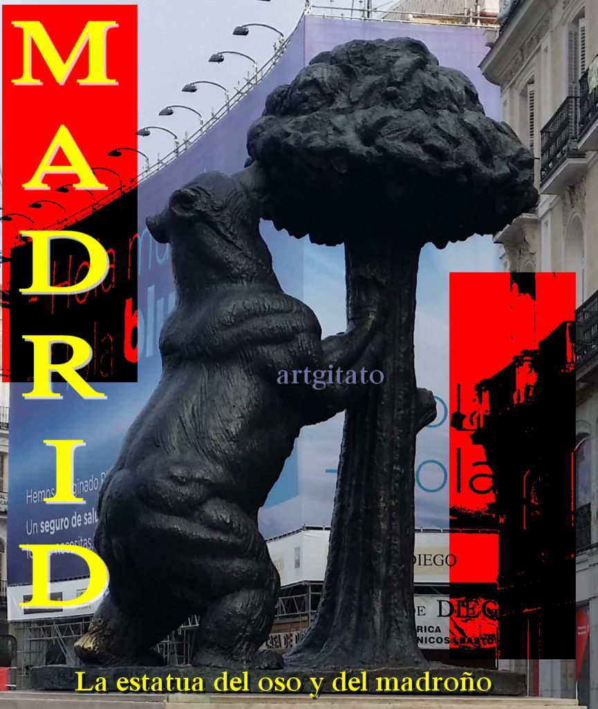 Madrid L'Ours & L'arbousier Artgitato La estatua del oso y del madroño