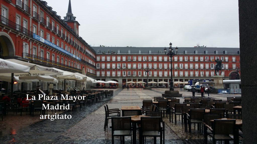 Madrid La Plaza Mayor artgitato 2