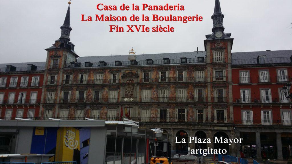 Madrid La Plaza Mayor artgitato 4 Casa de la Panaderia Maison de la Boulangerie
