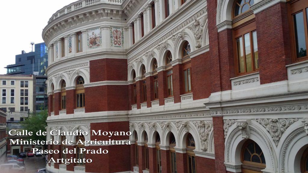 Ministerio de Agricultura Calle de Claudio Moyano Paseo del Prado Artgitato