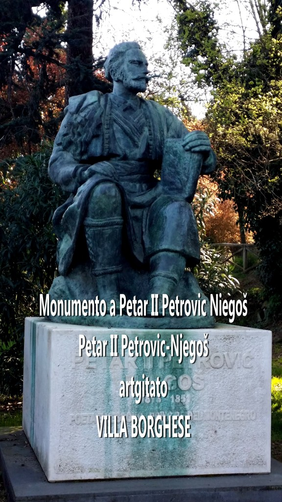 Monumento a Petar II Petrovic Niegoš Petar II Petrovic Njegos artgitato 0